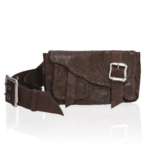 Granada Belt Bag in Chocolate