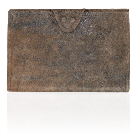 Rio Distressed Wallet in Abstract