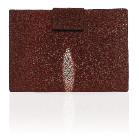 Rio Stingray Wallet in Cognac