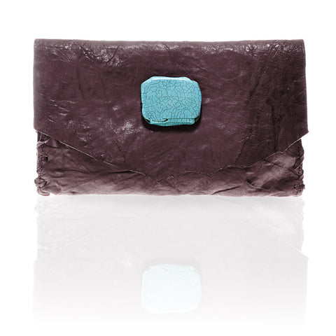 Marie Wallet/Clutch in Lilac