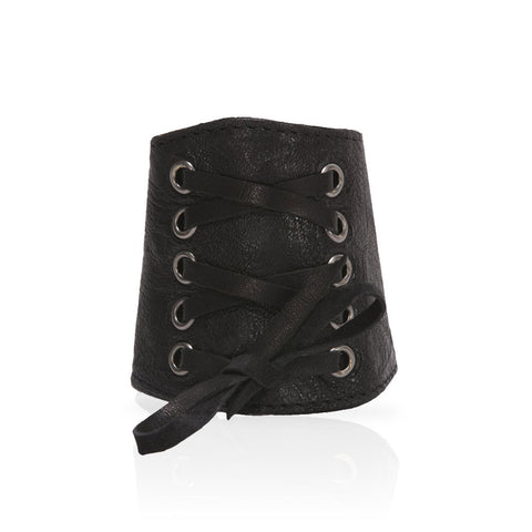 Adel Lace Cuff in Black