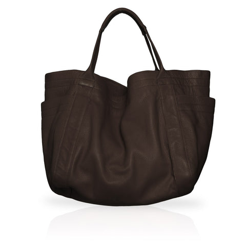 Aversa Tote Bag in Chocolate
