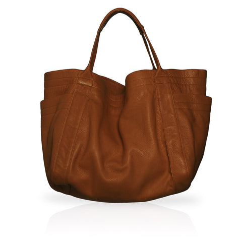 Aversa Tote Bag in Burnt Cork