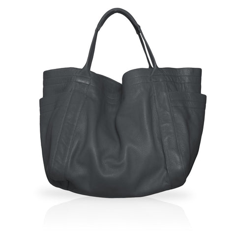 Aversa Tote Bag in Dark Grey
