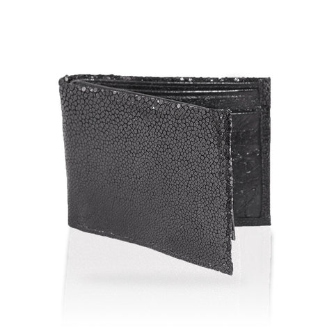 Gallarate Billfold Stingray Wallet in Black