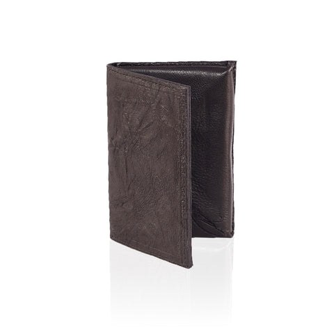 Teramo Leather Wallet in Chocolate