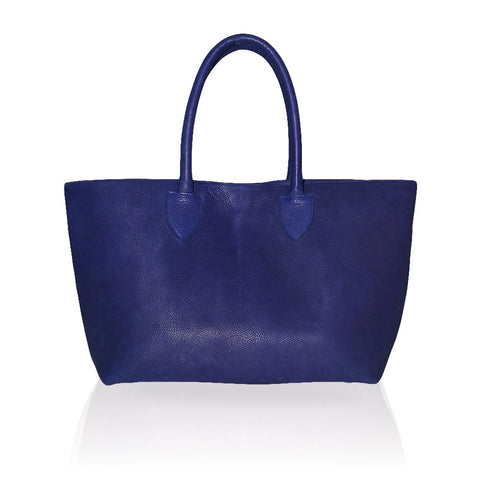 Monza Shopping Tote in Royal Blue