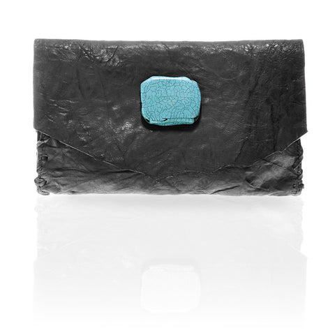 Marie Wallet/Clutch in Dark Grey