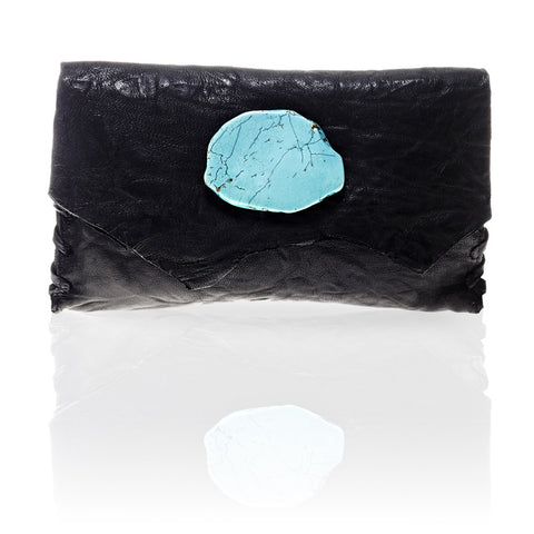 Marie Wallet/Clutch in Black
