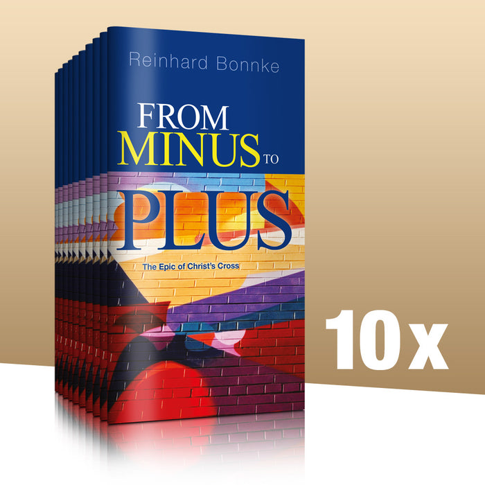 From Minus to Plus - Pack of 10