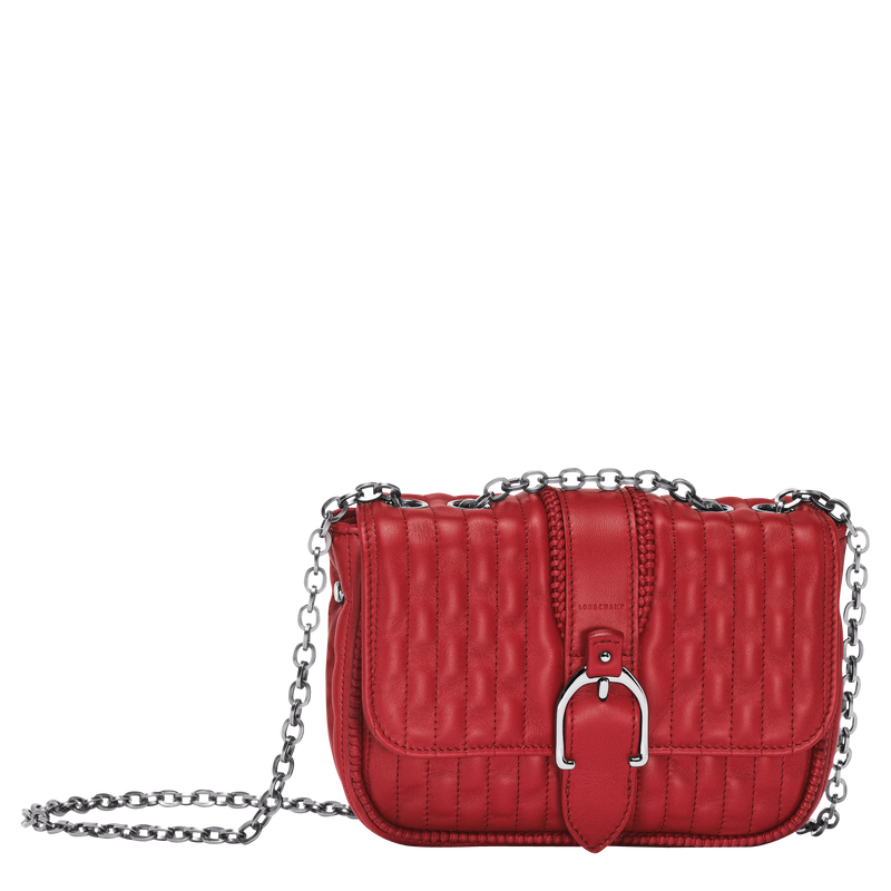 Longchamp-AMAZONE - Crossbody Bag XS-Red-1-10022941545