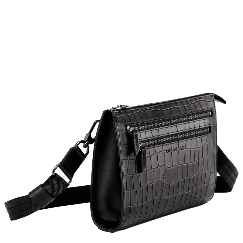 CROCO BLOCK - Crossbody Bag