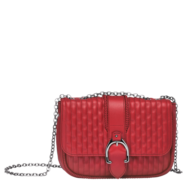 Longchamp-AMAZONE - CROSSBODY BAG S-Red-10-L1357941545