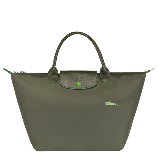 Longchamp - Le Pliage Club Top Handle Bag M - Forest  - L1623619549 - Image 1