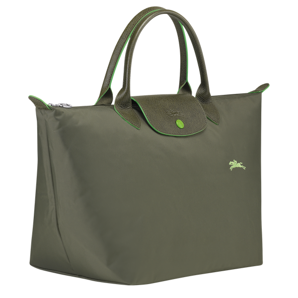 Longchamp - Le Pliage Club Top Handle Bag M - Forest  - L1623619549 - Image 2