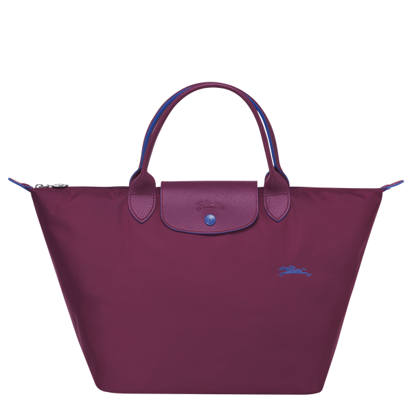 Longchamp - Le Pliage Club Top Handle Bag M - Plum - L1623619P22 - Image 1