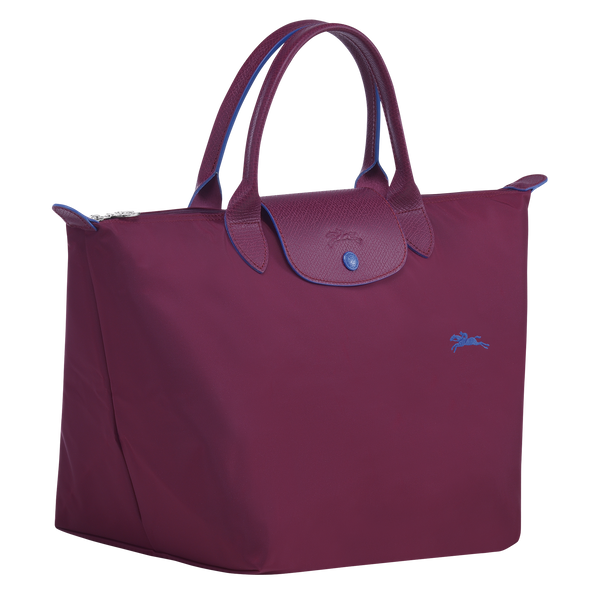 Longchamp - Le Pliage Club Top Handle Bag M - Plum - L1623619P22 - Image 2