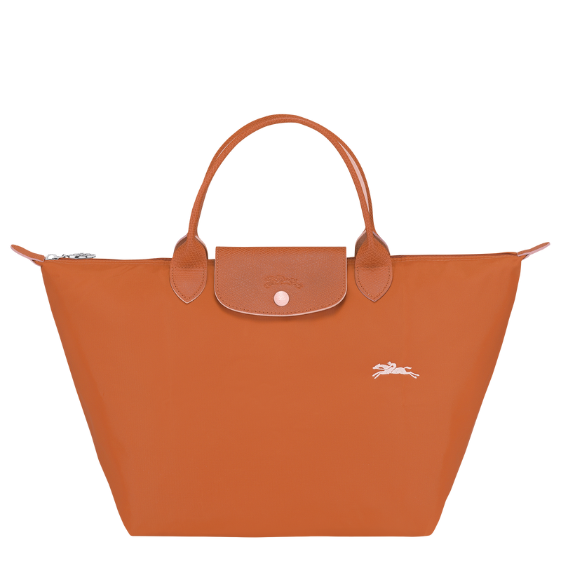 Longchamp - Le Pliage Club Top Handle Bag M - Rust - L1623619P39 - Image 1