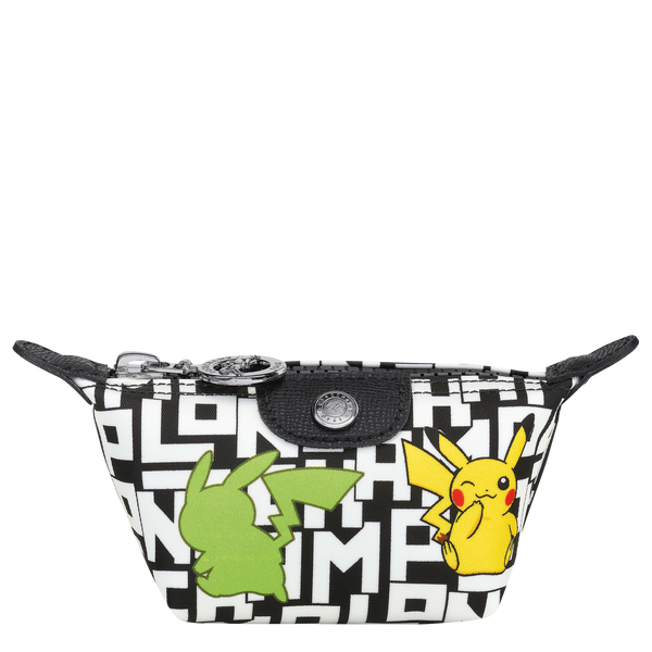 Longchamp x Pokemon Limited Edition Coin Purse in Black/White - L3693HUT067