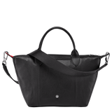 Longchamp x Pokemon Limited Edition Top-handle bag S in Black (Back view) - L1512HUY001