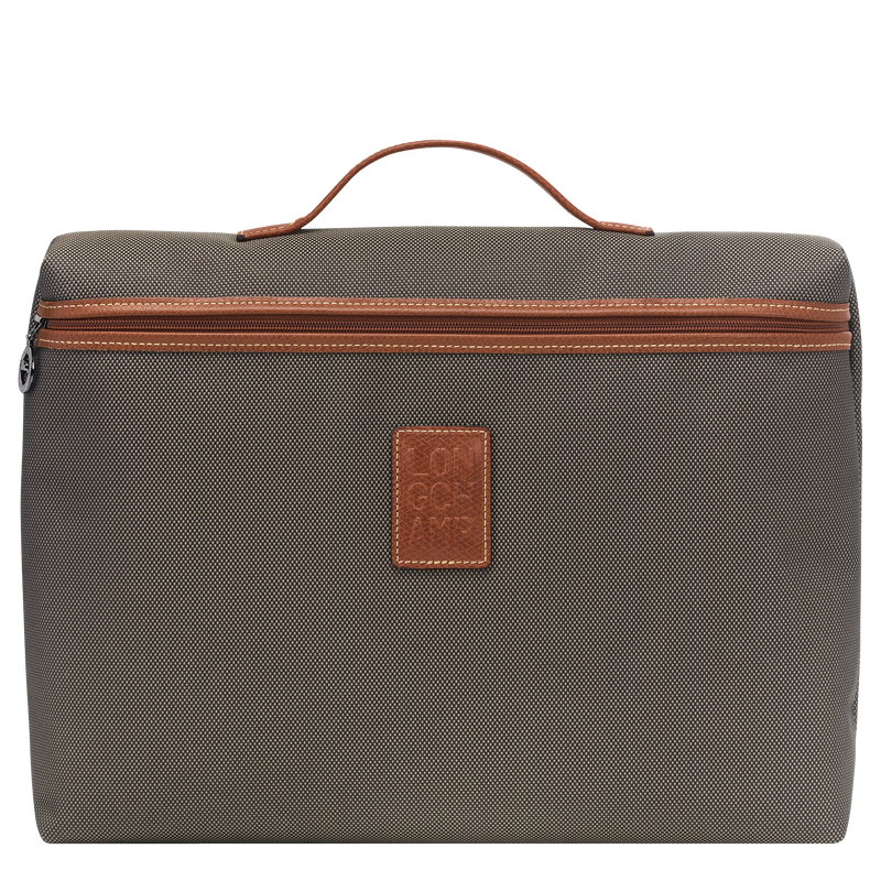 Boxford Briefcase S in Brown - Front - L2182080042