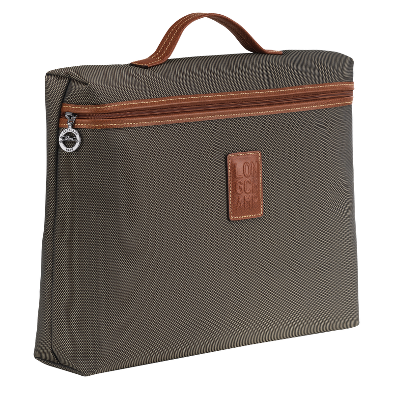 Boxford Briefcase S in Brown - Side - L2182080042