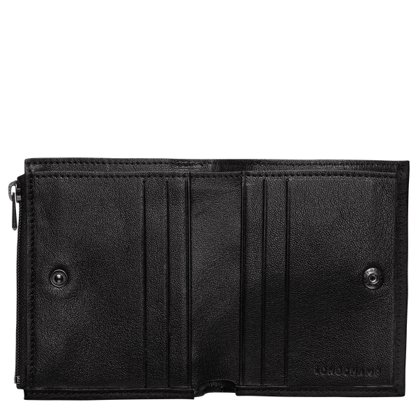 Essential Compact Wallet in Black/Ebony - 2 - 30009973001