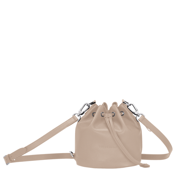 Le Foulonne Bucket Bag S in Beige - 1 - 10061021005