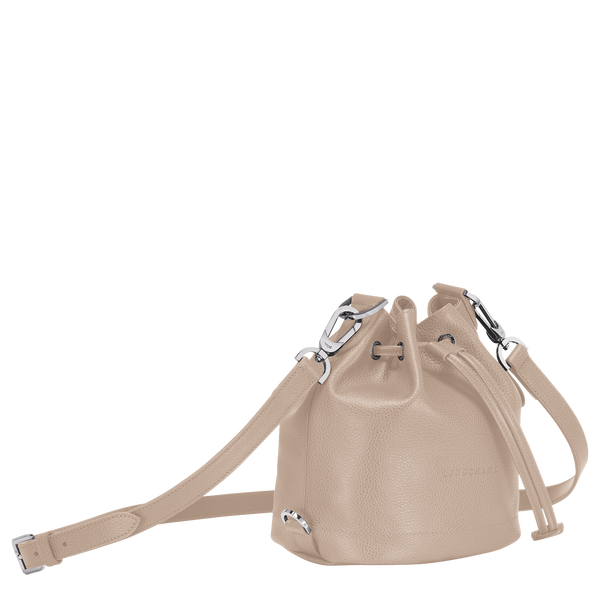 Le Foulonne Bucket Bag S in Beige - 2 - 10061021005