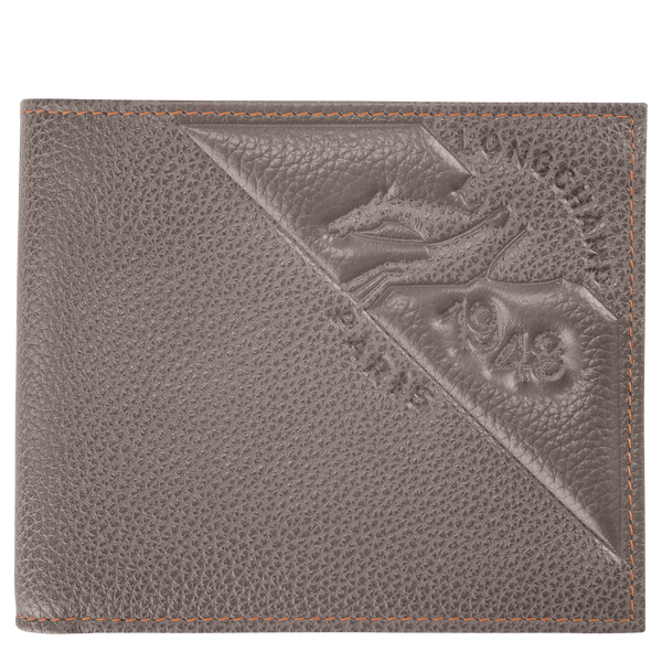 Le foulonne Wallet in Taupe - 1 - L3508023015