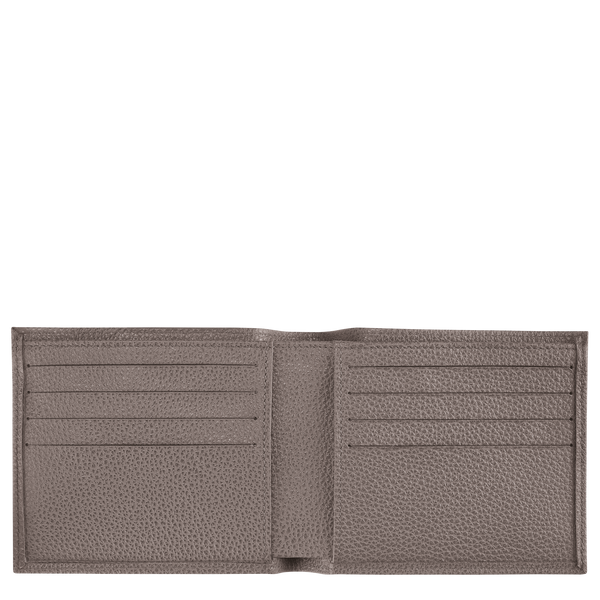 Le foulonne Wallet in Taupe - 2 - L3508023015