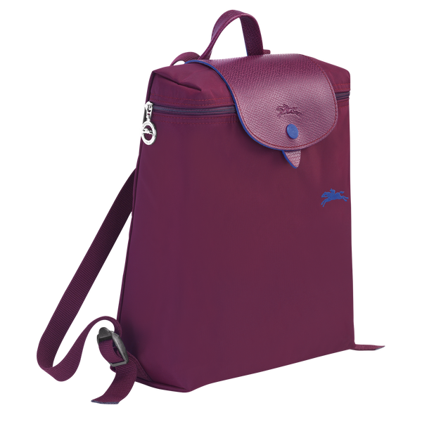 Le Pliage Club Backpack in Plum - Side - L1699619P22