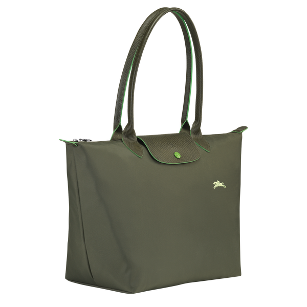 Le Pliage Club Top Handle Bag L in Forest - Side - L1899619549
