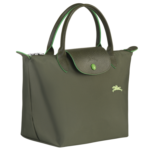 Le Pliage Club Top Handle Bag S in Forest - Side - L1621619549