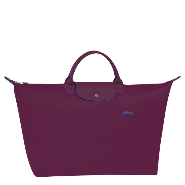 Le Pliage Travel Bag in Bilberry - Front - L1624619P22