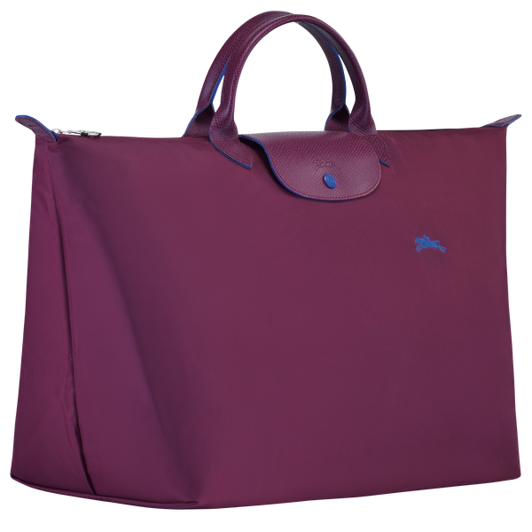Le Pliage Travel Bag in Bilberry - Side - L1624619P22