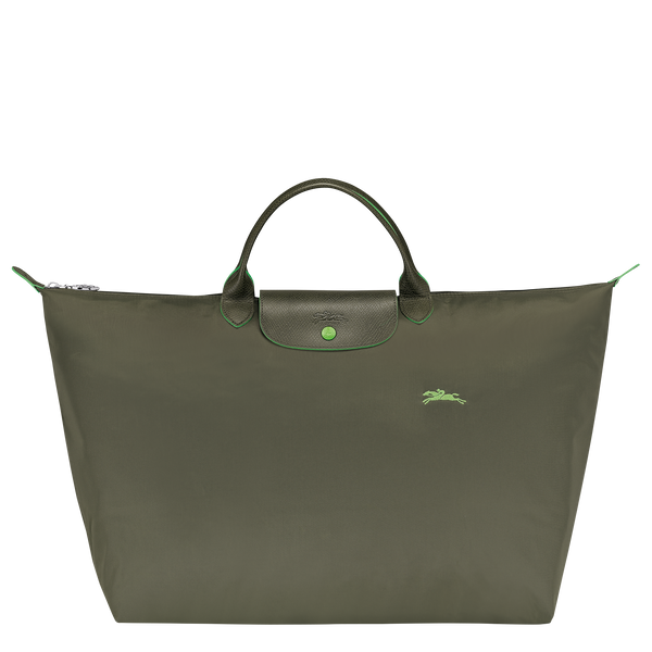 Le Pliage Travel Bag in Forest - Front - L1624619549