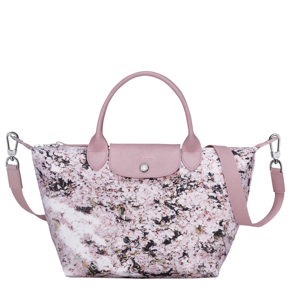 Le Pliage Printemps/Été 2021 Top Handle Bag S in Pink - Front - L1512HVYP46