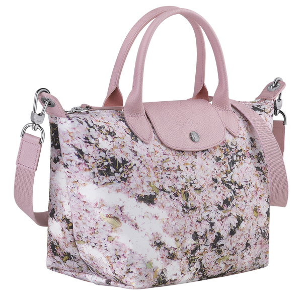 Le Pliage Printemps/Été 2021 Top Handle Bag S in Pink - Side - L1512HVYP46