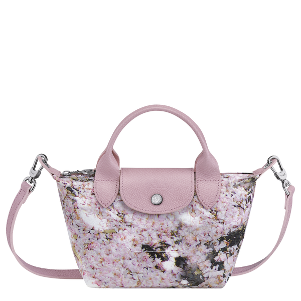 Le Pliage Printemps/Été 2021 Top Handle Bag XS in Pink - Front - L1500HVYP46