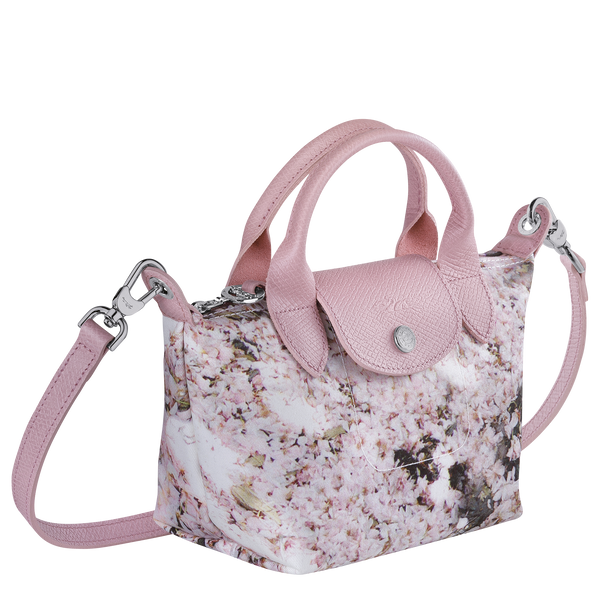 Le Pliage Printemps/Été 2021 Top Handle Bag XS in Pink - Side - L1500HVYP46