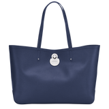Longchamp Cavalcade Shoulder Bag in Navy - Front - L2686HNA006