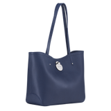 Longchamp Cavalcade Shoulder Bag in Navy - Side - L1378HNA006
