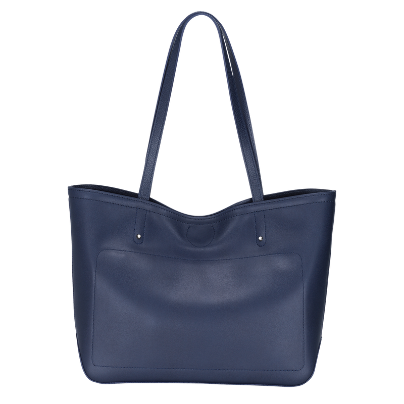 Longchamp Cavalcade Shoulder Bag in Navy - Back - L1378HNA006
