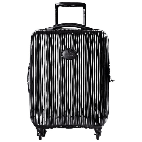 Longchamp Fairval Cabin Suitcase in Black - Front - L1404989001