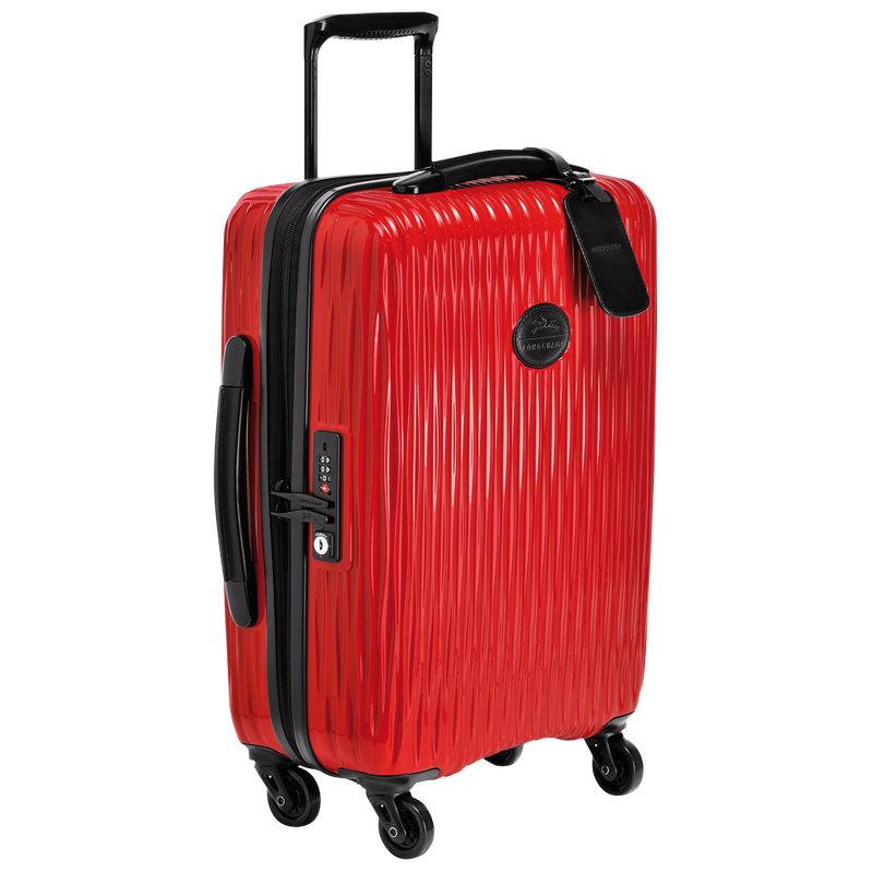 Longchamp Fairval Cabin Suitcase in Red - Side - L1404989545