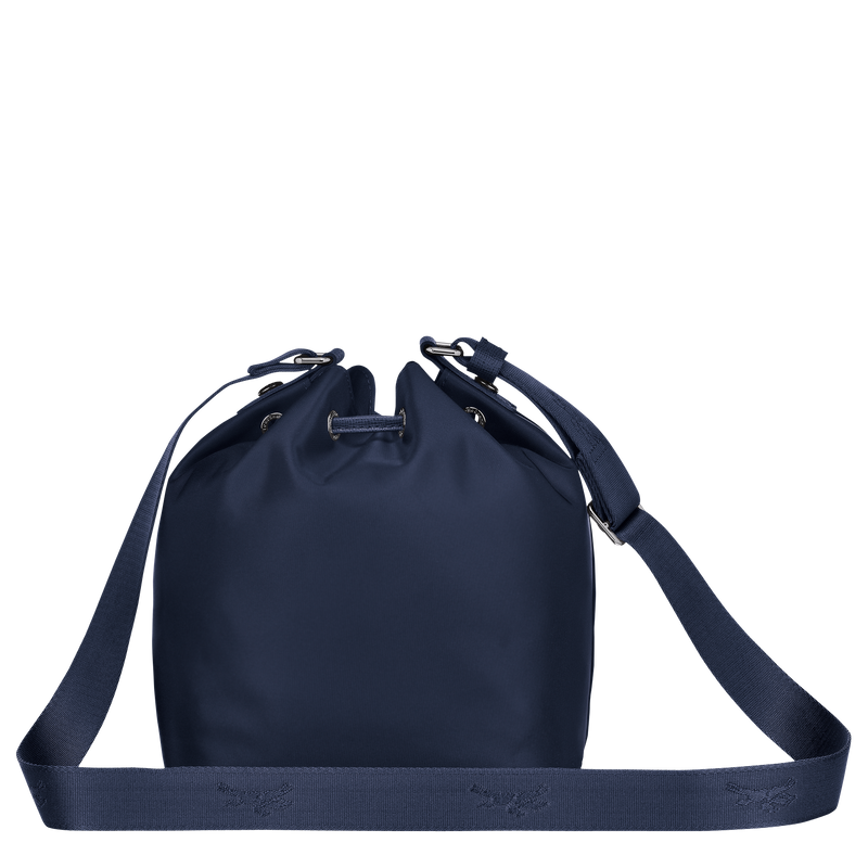 Longchamp Le Pliage Neo Bucket Bag S in Navy - Back - 10054598006