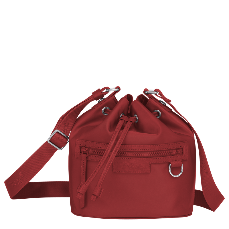 Longchamp Le Pliage Neo Bucket Bag S in Red - Front - 10054598545