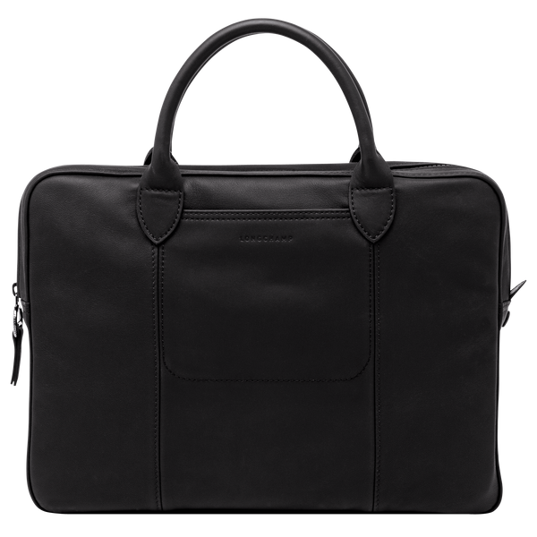 Parisis Briefcase in Black - Front - L2168969001