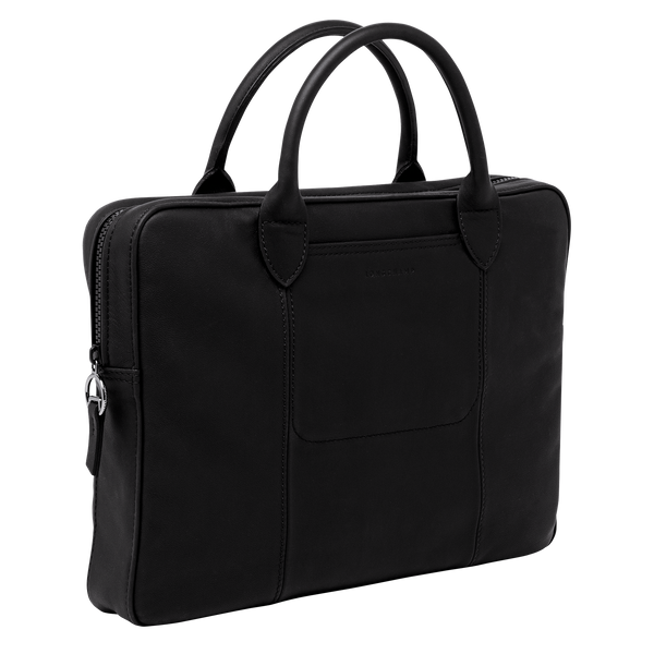 Parisis Briefcase in Black - Side - L2168969001